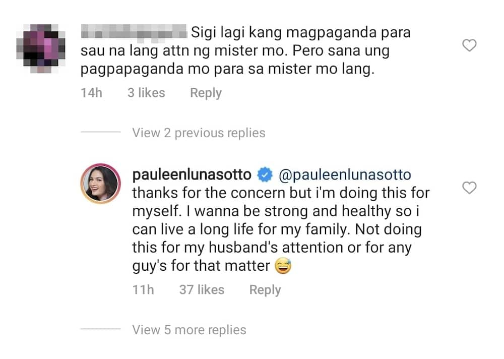 Pauleen Luna, sinagot ang netizen na nagsabing nagpapaganda siya para kay Vic Sotto
