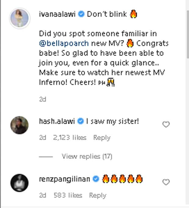 Ivana Alawi, may cameo role sa international music video ni Bella Poarch