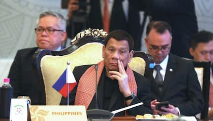 President Duterte says he uses illegal substance to stay awake