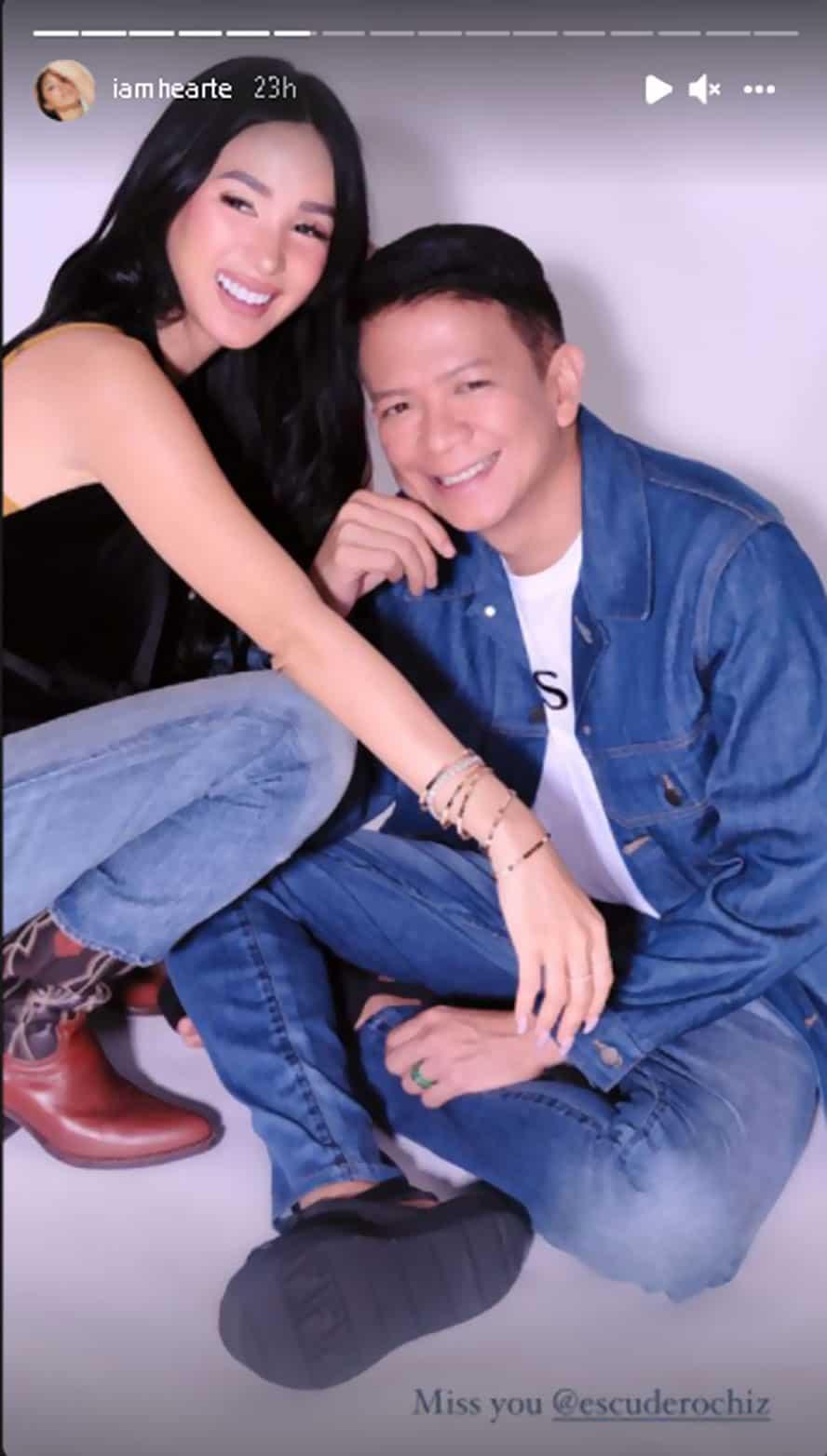 Heart Evangelista, nasa lock-in taping; miss na raw sobra ang asawang si Chiz Escudero