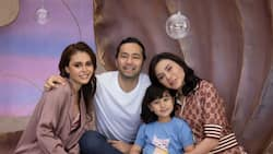 """Scarlet Snow Belo posts photo with parents, Ivana Alawi: """"with the mermaid"""""""