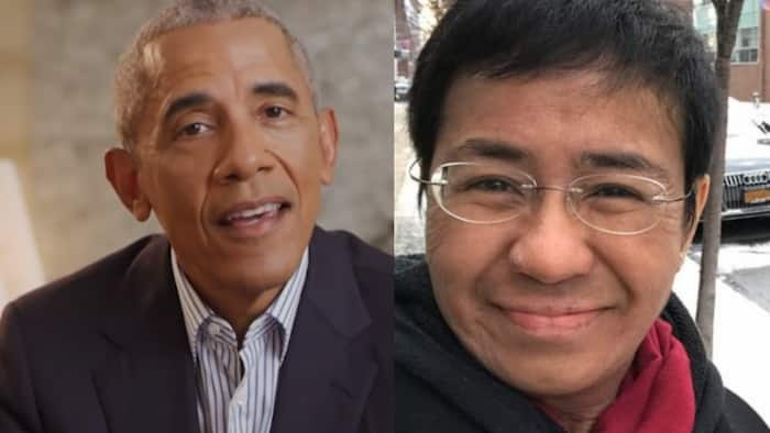 Barack Obama congratulates Maria Ressa on Nobel Piece Prize win with Dmitry Muratov
