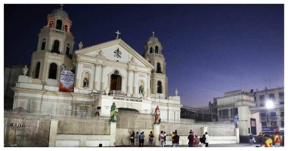 Quiapo church, naka-lockdown matapos na magpositibo sa COVID-19 at isang pari roon