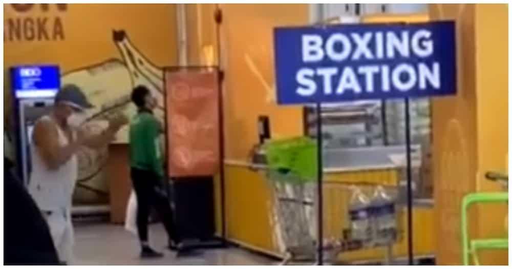 """Video ng lalaki sa """"boxing station"""", kinagiliwan ng maraming netizens"""