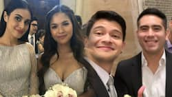 In Photos: Celebrities at Rodjun Cruz and Dianne Medina's grand wedding