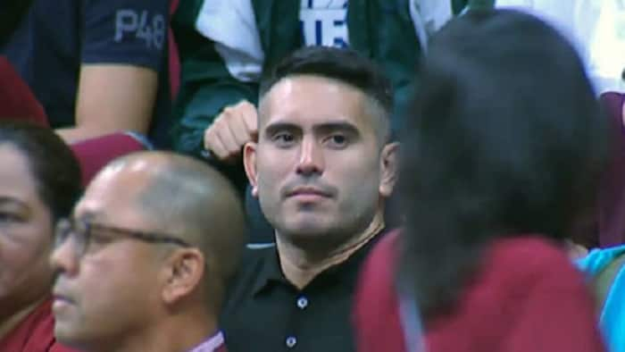 Gerald Anderson attends UP-Ateneo basketball game; gets booed by crowd