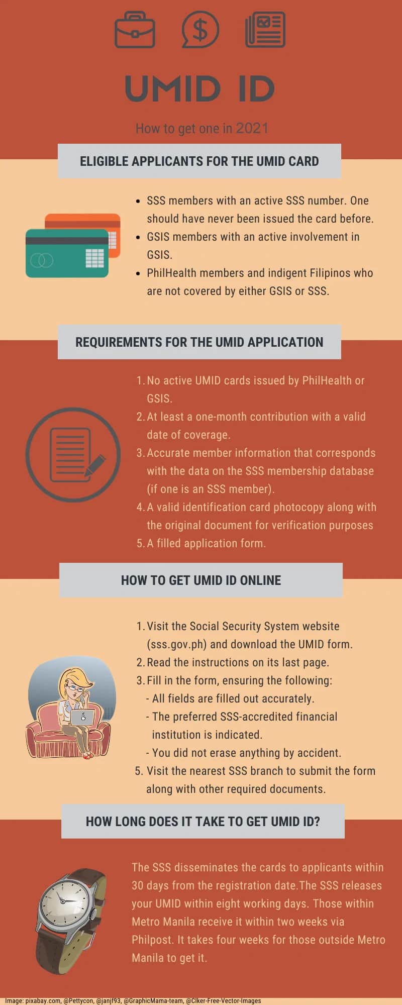 How to get UMID ID 2021
