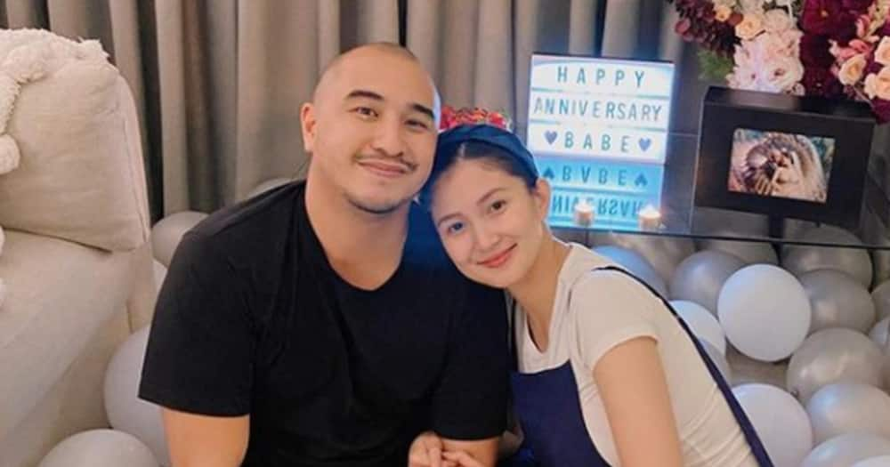 Sheena Halili documents first day of baby Martina at home; their photos go viral