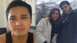 Gigo de Guzman receives malicious message while grieving the death of his mother, Claire Dela Fuente