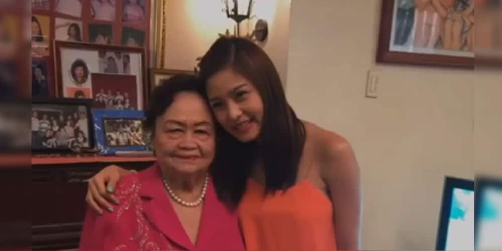 """Kim Chiu mourns death of her grandmother, """"Thank you ama, for taking care of us"""""""