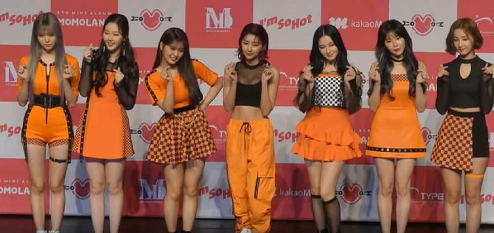 Momoland's leader does the 'Marikit' dance challenge; her video goes viral