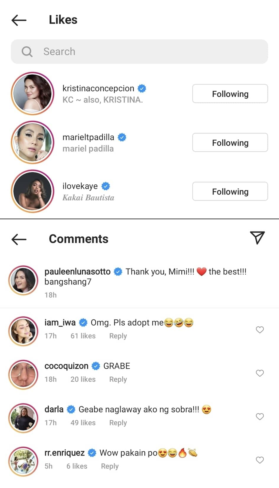 """Iwa Moto tells Pauleen Luna to """"adopt"""" her after seeing her seafood online post"""