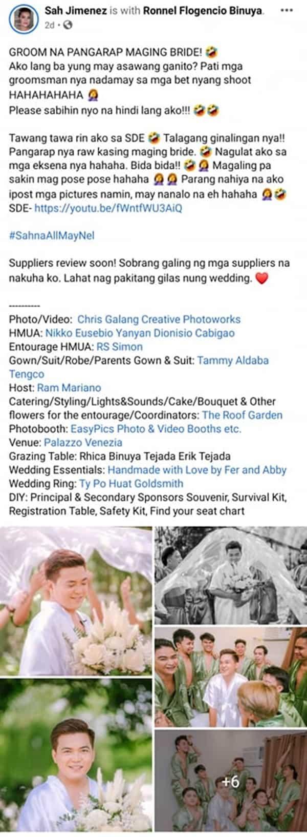 Kwento ng isang netizen na may asawang pinangarap maging bride, viral na