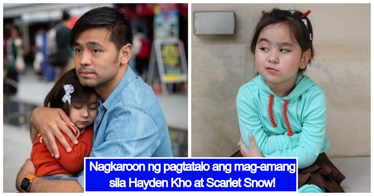 Scarlet Snow Argues With Daddy Hayden Kho Due To Misunderstanding  E2 96 B7 Kami Com Ph