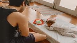 "Baby Dahlia and Erwan Heussaff's ""pinagbiyak na bunga"" baby photos go viral"