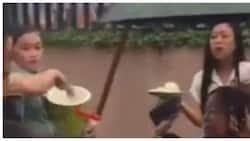 Mang Inasal crew na tuloy ang pamimigay ng unli-rice sa kasagsagan ng lindol, viral