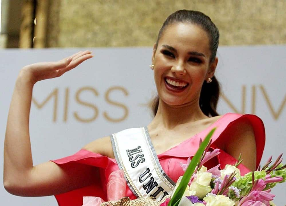 Video of Catriona Gray and Sam Milby's performance on Wish Bus goes viral
