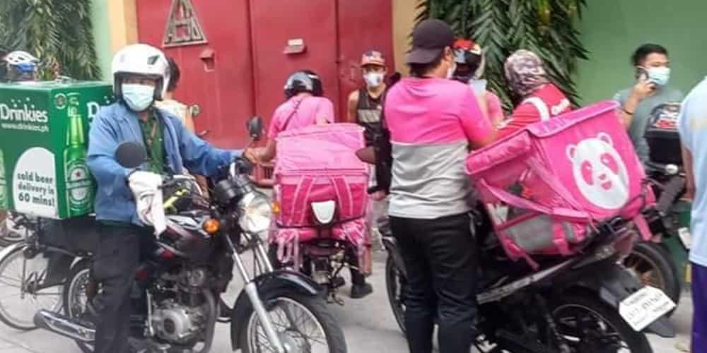 Kawawa naman! Higit 10 na food deliver rider, nabiktima ng fake order ng customer