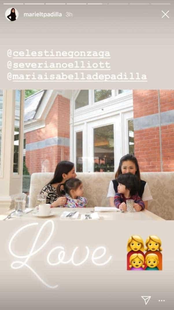 Mariel Padilla at Toni Gonzaga, nagkita sa Tate! Spotted ang kanilang sweet moments together