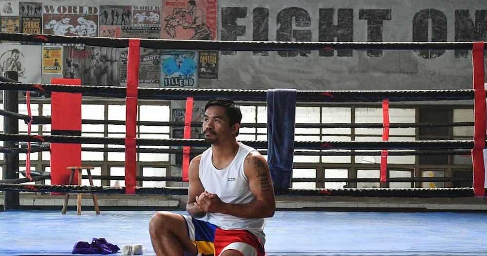 Manny Pacquiao, naluha habang inaalala ang pag-reject sa kanya noon sa Philippine Olympic team