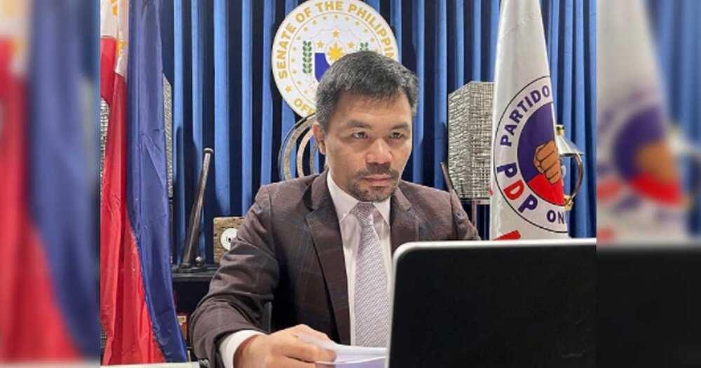 "Duterte, binanatan pagiging boksingero-politiko ni Pacquiao: ""Doesn't mean you're a champion in politics"""