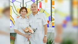 Dra. Ging Zamora gets married to cardiologist Dr. Sonny Abrahan