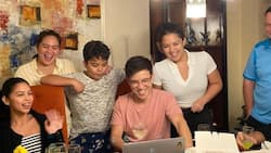 Maine Mendoza visits Arjo Atayde's family to celebrate his birthday