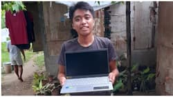 Guro, sinurpresa ng bagong laptop ang dating estudyante na humingi ng tulong