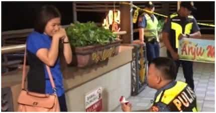 """Effort 'to! Pulis, ginulat ang kanyang GF sa """"madugong"""" proposal"""