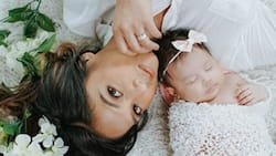 Rochelle Pangilinan and Arthur Solinap's delightful photos with their Baby Shiloh Jayne