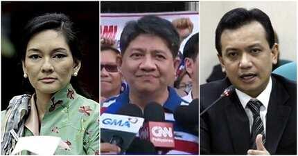 """Para kay Gadon, """"bobo"""" raw ang mga senador na sina Trillanes, Hontiveros at Pangilinan"""