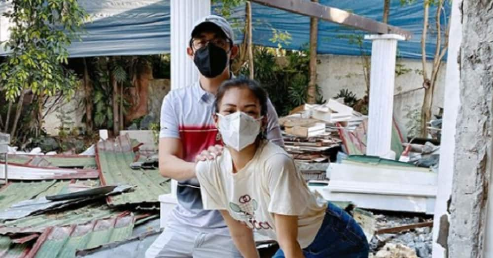 Alex Gonzaga and Mikee Morada give an epic video tour their future house