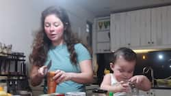 Andi Eigenmann's 'Food Prepping' video with baby Lilo goes viral