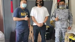 Baron Geisler joins training under Philippine Navy to become a military reservist