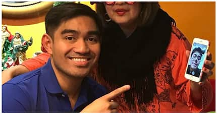 May bagong buwelta! Jesus Falcis shares picture of video call with brother