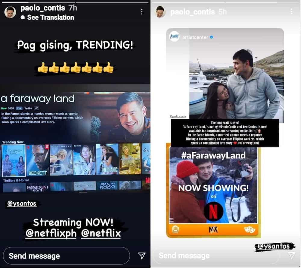 Paolo Contis, nag-promote ng movie sa gitna ng isyu ng pag-unfollow, pagbura ng pics ni LJ Reyes sa IG niya
