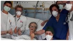 95-anyos na babae, pinakaunang naka-recover sa COVID-19 sa Italy