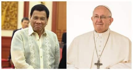 Pangulong Duterte, 'saludo' kay Pope Francis