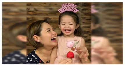 Baby Luna nina Juday at Ryan Agoncillo, muddy puddle lang ang 3rd birthday wish!