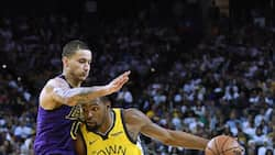 Lakers win against Warrios as Lebron James leaves the game early