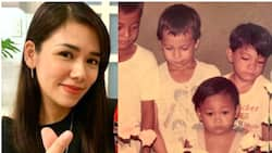 """Danica Sotto gushes over Marc Pingris' childhood pic wearing """"TVJ"""" shirt"""