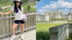 Isabelle Daza shares photos from her grand 10-hour road trip on social media