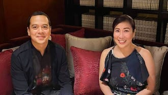 John Lloyd Cruz meets with GMA executive Annette Gozon-Valdes