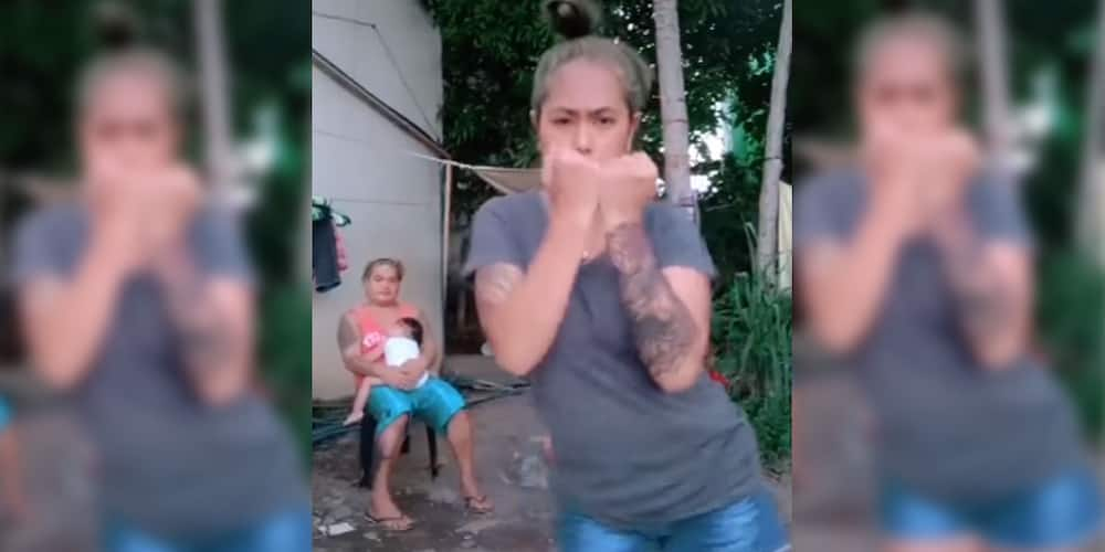 """Video of """"duwende"""" peeking during a TikTok dance cover of """"It Really Hurts"""" goes viral"""