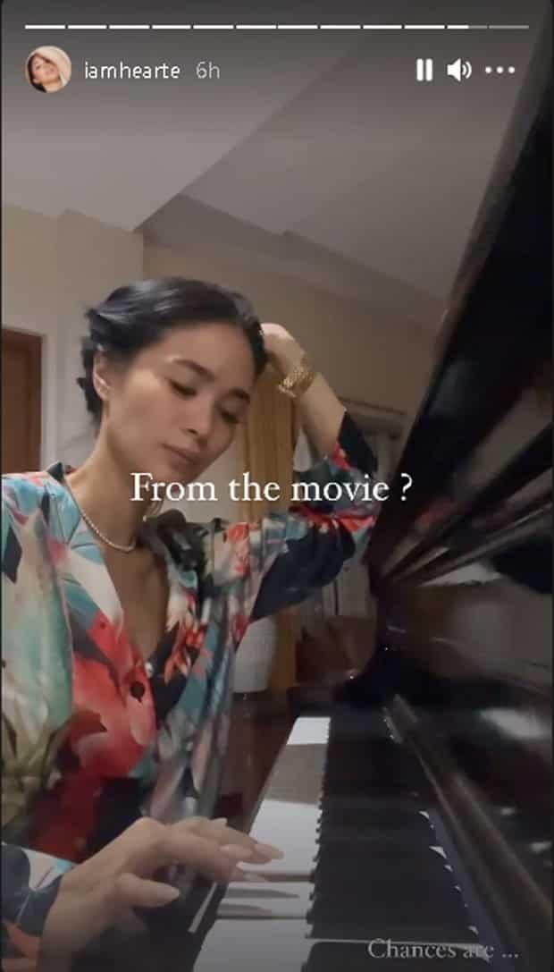 Heart Evangelista, ibinida ang magaling na piano skills niya
