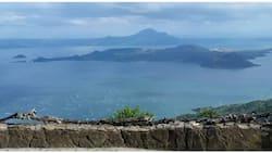 Pamilya na lakas-loob na namasyal sa main crater ng Taal, agad na naaresto