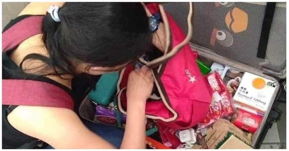 OFW na kararating lang sa bansa, nabiktima di umano ng 'bukas maleta' sa airport