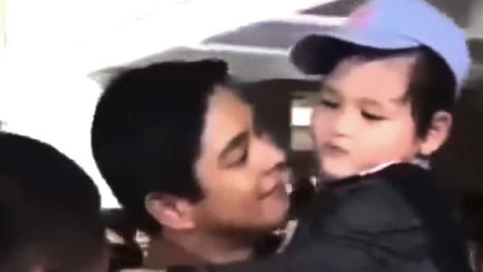 """Sweet videos ni Coco Martin kasama si Ricky Boy ng """"Ang Probinsyano,"""" nag-viral"""