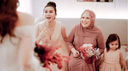 Mariel Padilla bonded with Robin's ex-wife Liezl Sicangco at Kylie Padilla's wedding