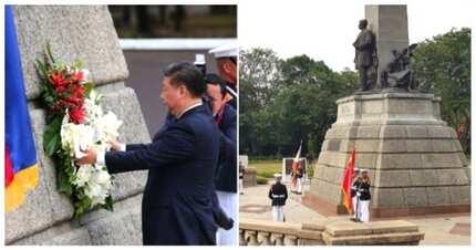 Nagreact ang mga netizens sa pagbisita ng Chinese president sa Rizal Park